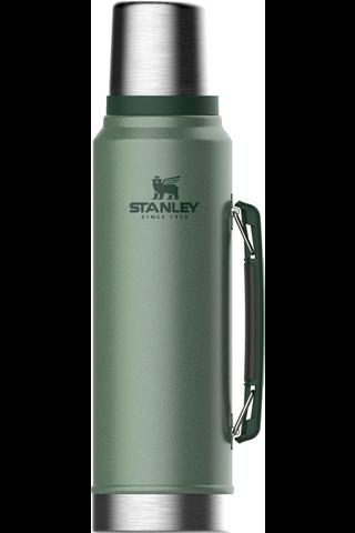 Stanley 1,0l termospullo Classic vihreä