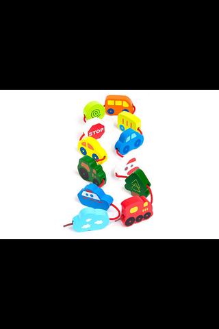 Hape Pujoteltavat ajoneuvot lelu 13 osaa