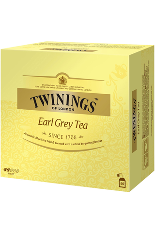 Twinings 50x2g Earl Grey tea