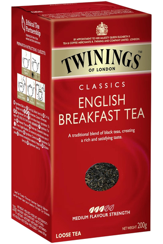 Twinings 200g English Breakfast tee