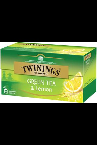 Twinings 25x1,6g vihreä tee sitruuna