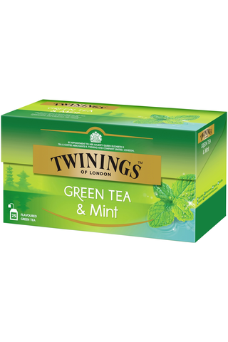 Twinings 25x1,5g Green Tea & Mint