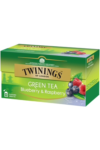 Twinings 25x1,6g Green Tea Blueberry-Raspberry