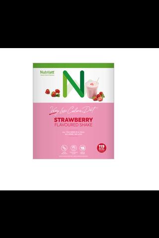 Nutrilett strawberry shake VLCD-dieettivalmiste mansikkapirtelö 15x33g