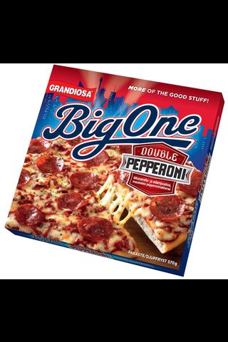 Grandiosa Big One pan pizza double pepperoni, juustoa ja pepperonimakkaraa 570g