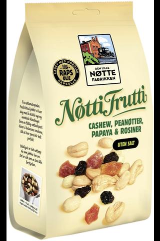 Den Lille Nøttefabrikken 190g Nötti Frutti pähkinä-hedelmäsekoitus rypsiöljyssä paahdettu