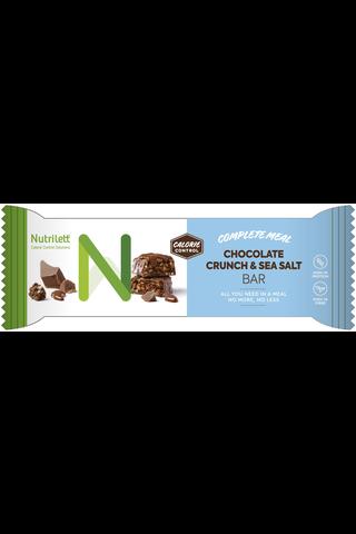 Nutrilett 60g Chocolate Crunch & Seasalt atreriankorvikepatukka