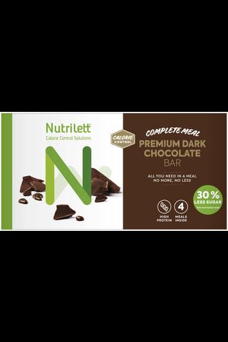 Nutrilett 4x59g Premium Dark Chocolate ateriankorvikepatukka