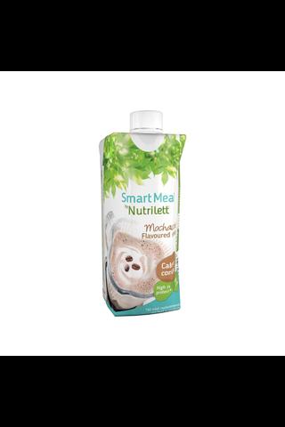 Nutrilett 330 ml Mochaccino 30 % vähemmän sokeria Smoothie ateriankorvike