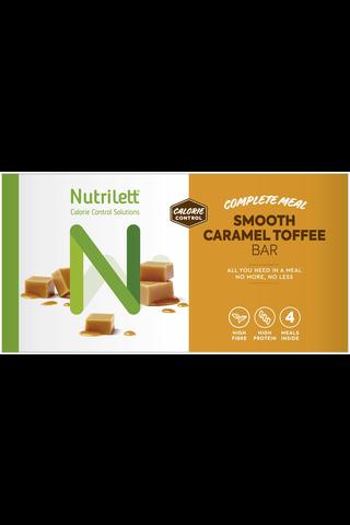 Nutrilett 4x56 g Smooth Caramel ateriankorvikepatukka