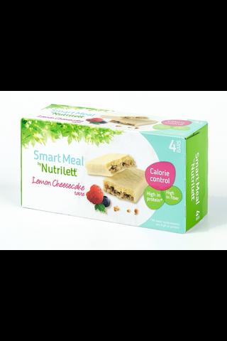 Nutrilett 4x56g Lemon cheesecake ateriankorvikepatukka