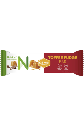 Nutrilett 40g Toffee Fudge maitosuklaa-karamellipatukka