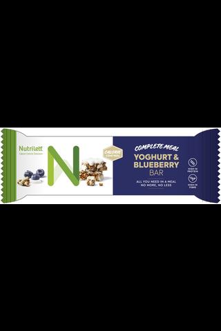 Nutrilett 56g Yoghurt & Blueberry Jogurtti-mustikka-ateriankorvikepatukka