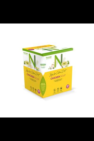 Nutrilett Chicken Soup VLCD vähälaktoosinen kanakeitto erittäin niukkaenergiainen ruokavalionkorvike 15x33g