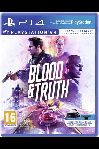 PlayStation 4 VR Blood & Truth