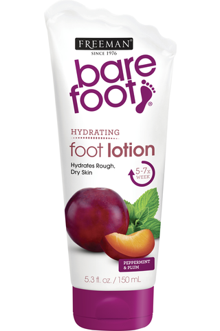 Freeman Bare Foot Softening Foot Lotion Peppermint & Plum -jalkavoide