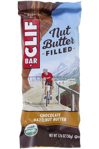 Clif Bar 50g patukka suklaa- ja hasselpähkinätäytteellä