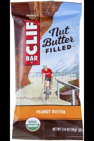Clif Bar 50g energipatukka maapähkinävoitäytteellä