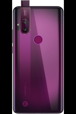 Motorola one hyper punainen