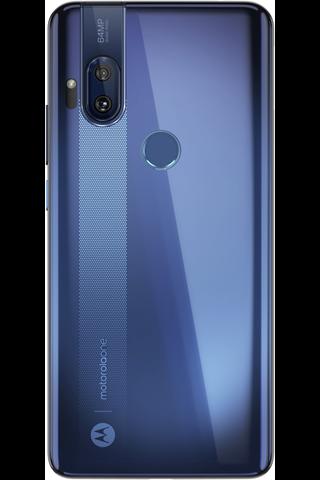Motorola one hyper sininen
