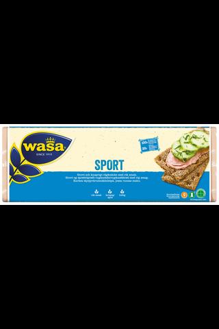 Wasa 550g Sport näkkileipä täysjyväruista sisältävä leipomotuote