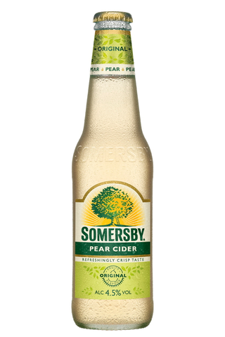 Somersby Pear 4,5 % 33cl lasipullo siideri