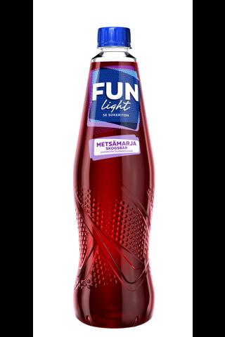 FUN Light metsämarjanmakuinen juomatiiviste 0,5l