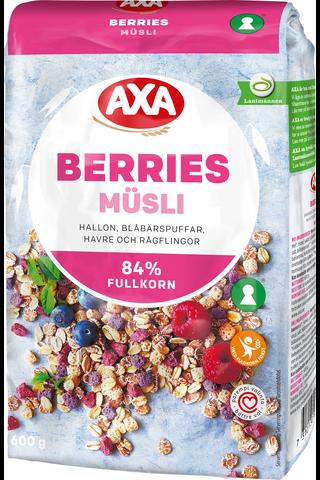 AXA 600 g Müsli Berries