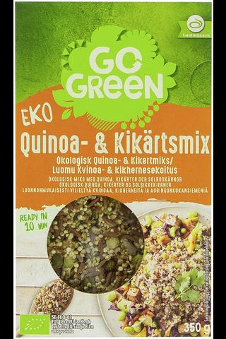 GoGreen 350 g Luomu Kvinoa- & kikhernesekoitus