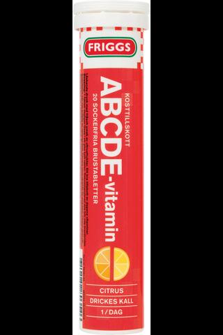 Friggs ABCDE-vitamiiniporetabletti 20kpl