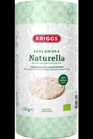 Friggs  suolaton gluteeniton luomu riisikakku 130g