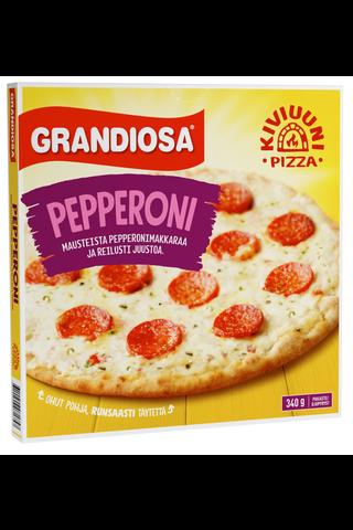Grandiosa pepperoni kiviuunipizza 300g