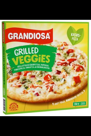 Grandiosa 350g grilled veggies kiviuunipizza