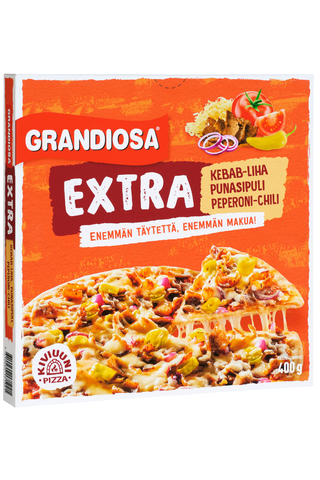 Grandiosa Extra kebab kiviuunipizza 400g