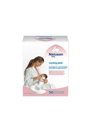 Natusan Baby 50kpl Nursing Pads valkoinen liivinsuojus