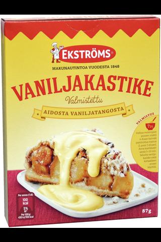 Ekströms 87g vaniljakastikeainekset