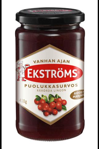 Ekströms Vanhan ajan 410g puolukkasurvos