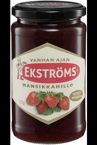 Ekströms Vanhan ajan 410g mansikkahillo
