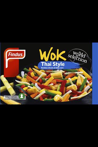 Findus 500g Wok Thai