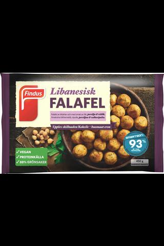 Findus Falafel Pyörykät 450g, pakaste