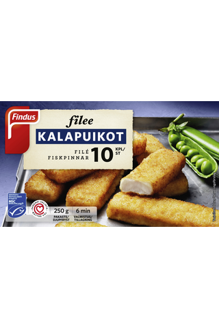 Findus 250g Filee kalapuikot
