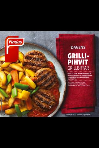 Findus Dagens Grillipihvi&BBQ 400g , pakaste