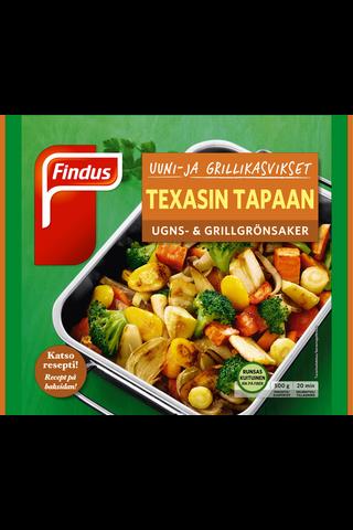 Findus Uuni- & grillikasvikset Texas 500g, pakaste