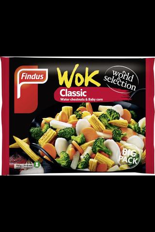 Findus 750g Wok Classic Big Pack