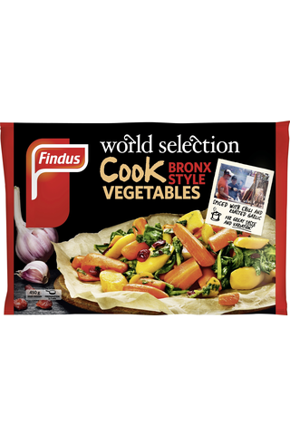 Findus World Selection Cook Bronx style vegetables 450g, pakaste