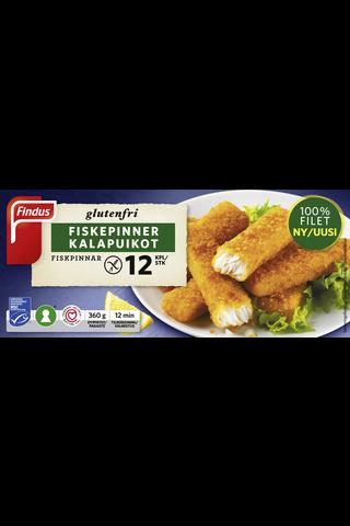 Findus Gluteenittomat kalapuikot MSC 360g, pakaste