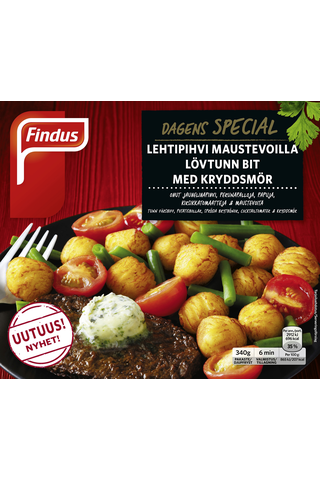 Findus Dagens Special Lehtipihvi maustevoilla 340g, pakaste