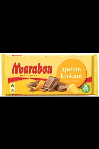 Marabou 200g Apelsin Krokant suklaalevy