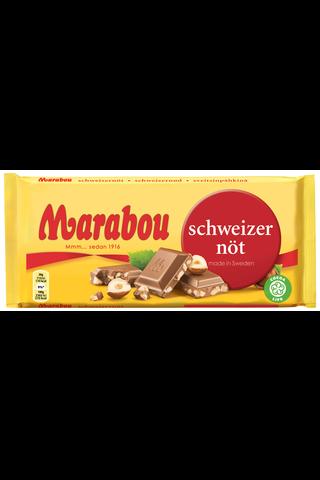 Marabou suklaalevy Schweizernöt 200g