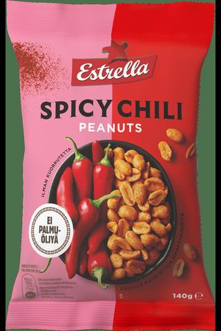 Estrella 140g Spicy Chili maapähkinä